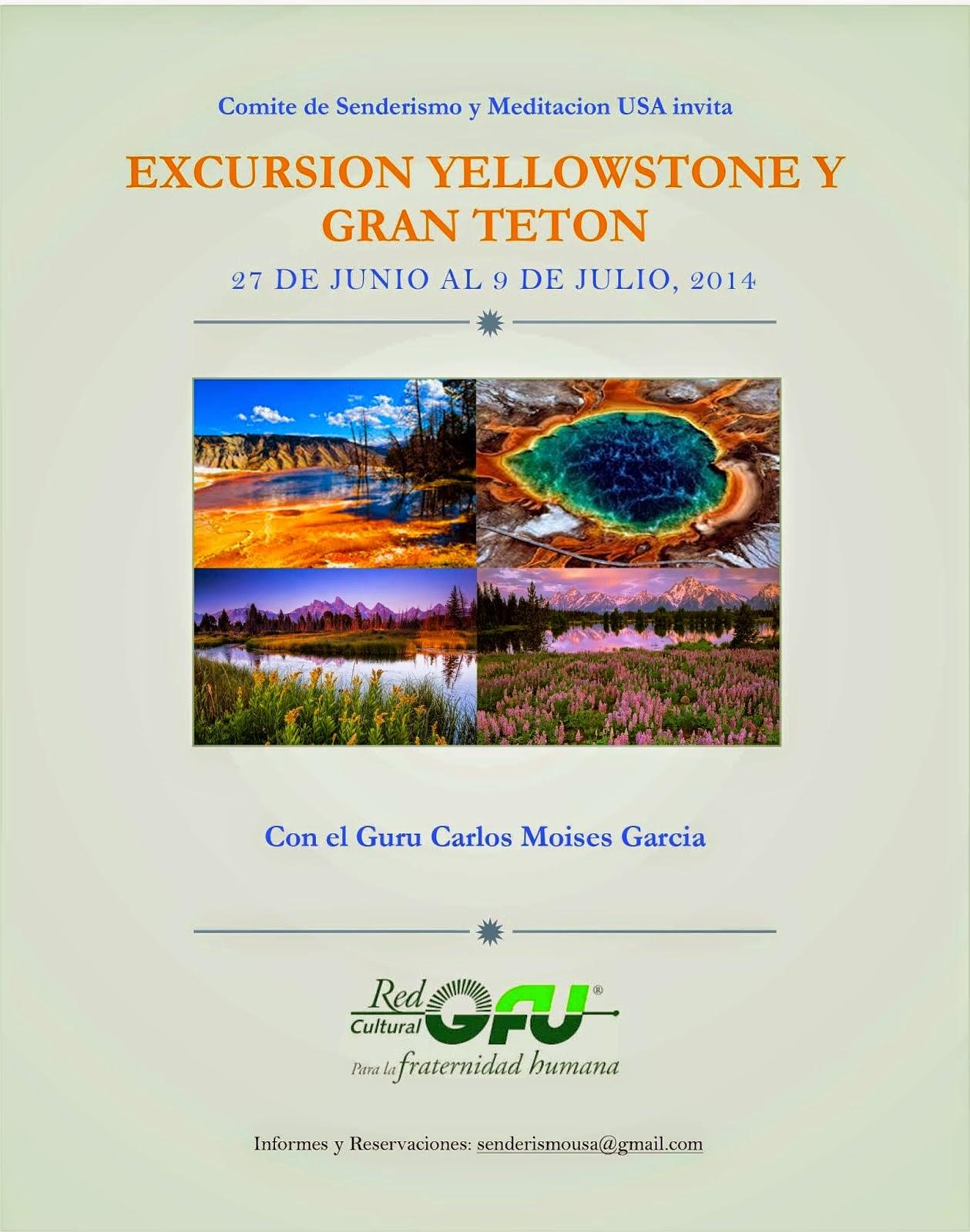 Excursiones con Meditaciones en Yellowstone y Gran Teton (USA)