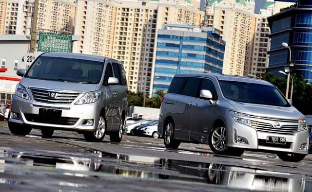 Nissan Elgrand Harga,Spesifikasi,Tampilan Depan
