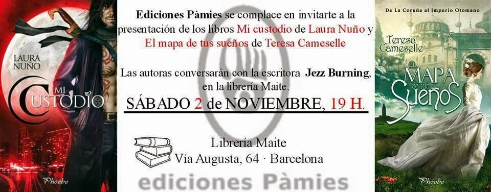 """Presentación """"Mi custodio"""" y """"El mapa de tus sueños"""", Barcelona 02.11.13 IMG-20131001-WA0005+(1)"""