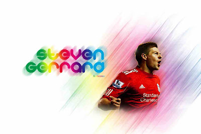 Liverpool Legend - Steven Gerrard Wallpapers Full Colours
