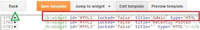 kode html widget html1