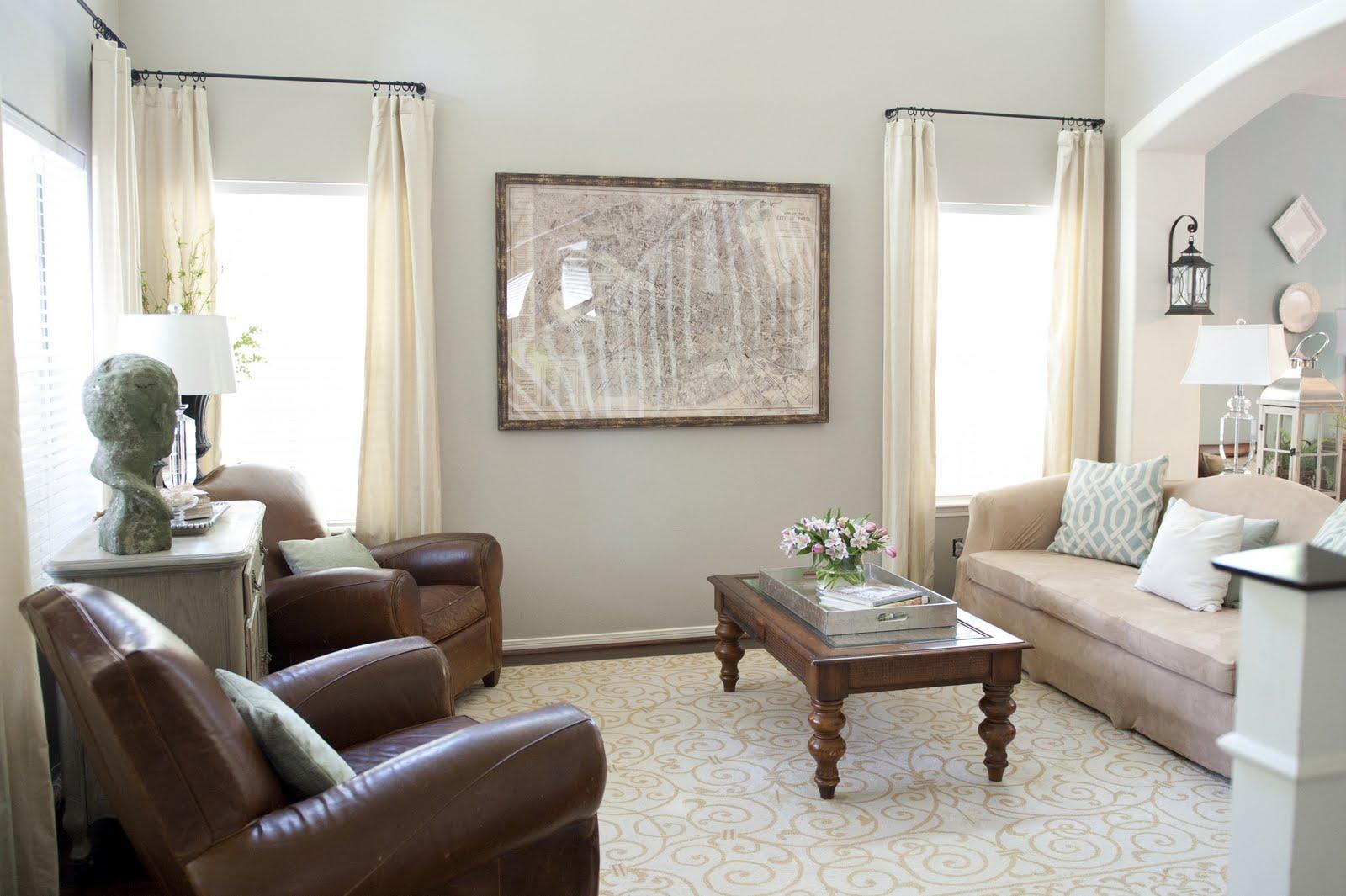 Perfect Paint Color For Living Room Amanda Carol Interiors