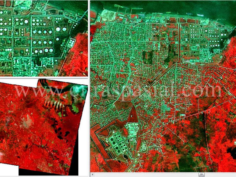 CITRA SPOT 4, Pengolahan Data Citra Satelit, Project Pengolahan Citra, Citra Satelit Resolusi Menengah,