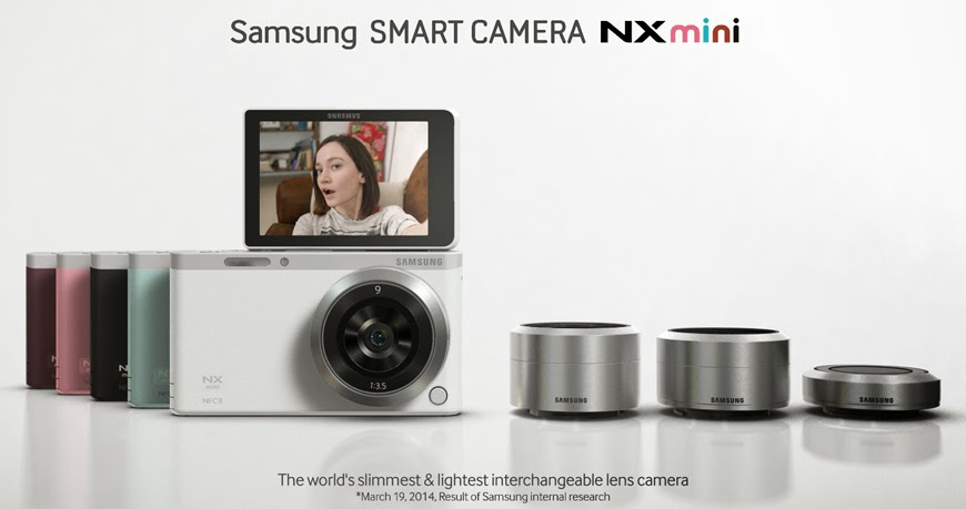 Samsung NX Mini Diluncurkan