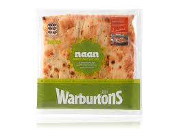 warburtons naan , indian naan , uk naan market , baked naan, warburtaons indian breads