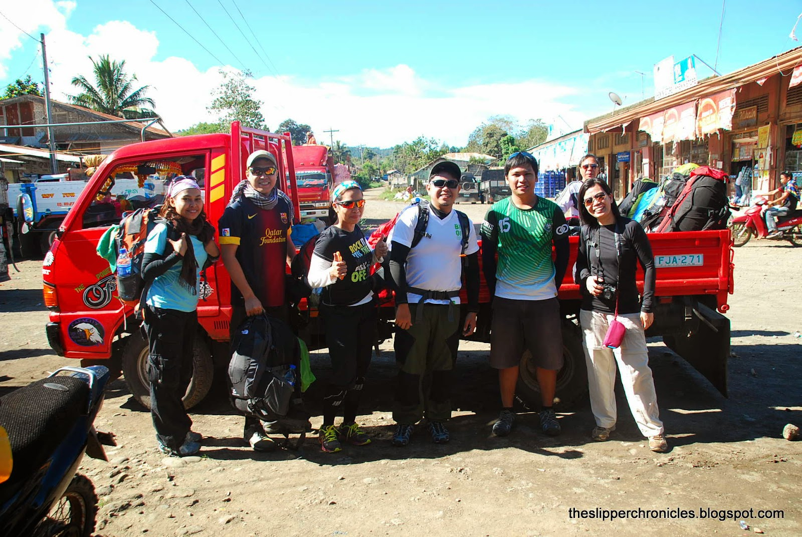 ride to mount apo