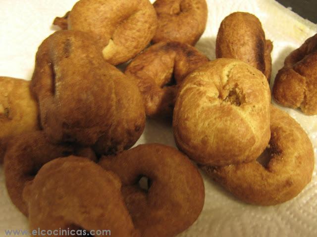 Rosquillas de naranjas