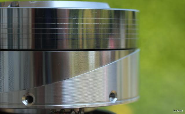 Tête d'enregistrement d'un magnétoscope.