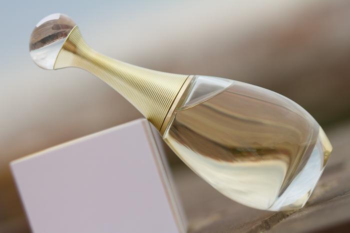Botella agua de perfume J'Adore Dior Gota Dorada PerfumeriaVIP