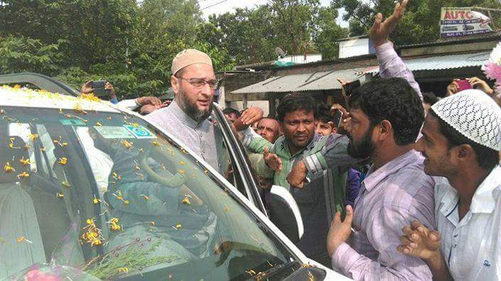 Image result for owaisi in kishanganj