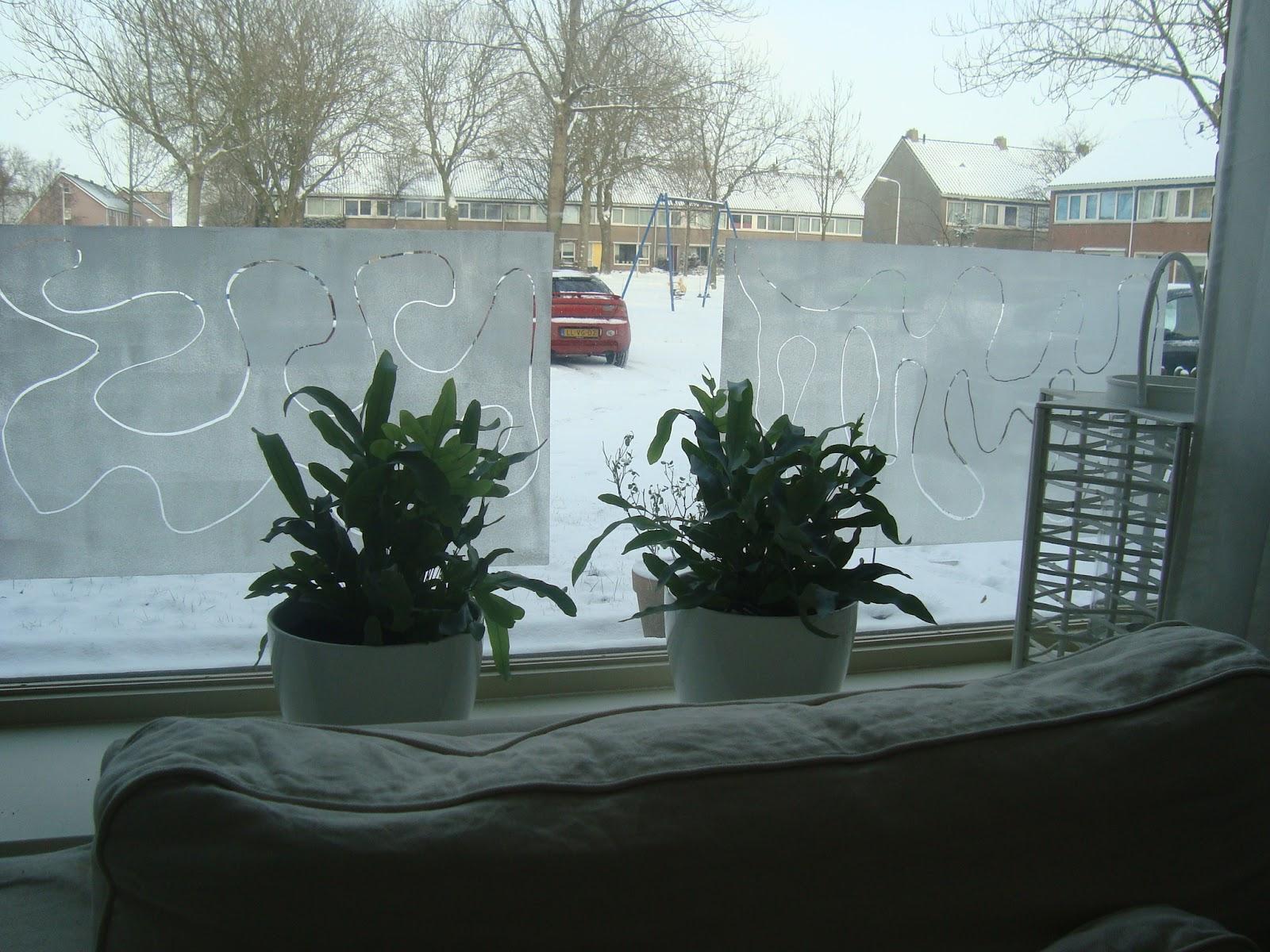 Rafraffel raam decoratie for Decoratie voor de raam