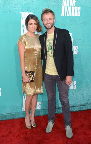 Nikki Reed and Paul McDonald at the 2012 MTV Movie Awards
