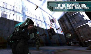 Screenshots of the Dead space for Android tablet, phone.