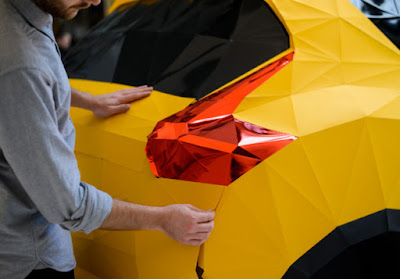 Life size origami