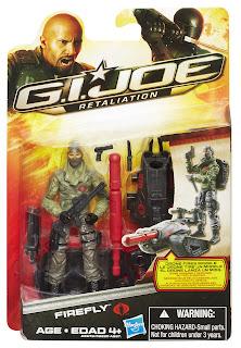 Hasbro GI Joe Retaliation Ultimate Firefly Figure