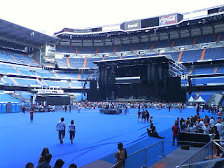 Santiago Bernabéu, Madrid, Bruce Springsteen, estadio,