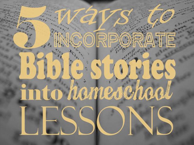 incorporate, Bible stories, scripture, homeschool, field trips, creative, fun, daniel, moses, good samaritan, noah's ark