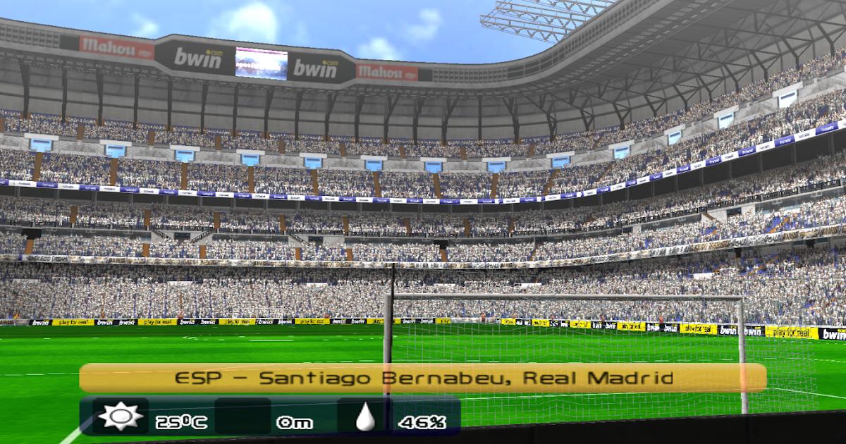 Stadium santiago bernabeu hd real madrid cf pes 6 pes for Puerta 6 santiago bernabeu
