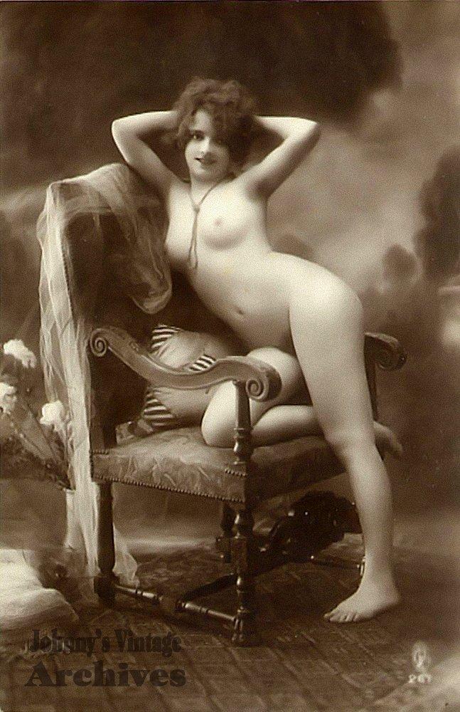 Старая французская эротика