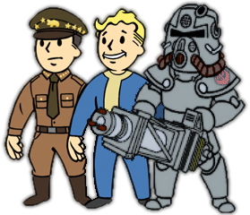 NCR Brotherhood Vault boy