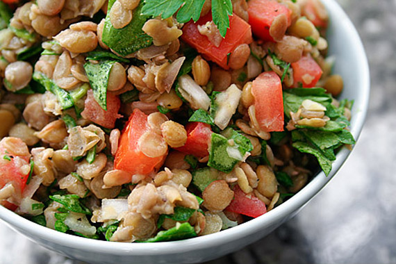 Downtown Chic.: Lentil Salad