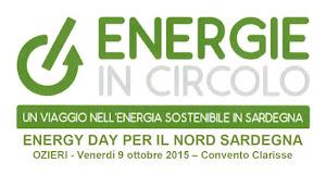 ENERGIE IN CIRCOLO OZIERI 9 OTTOBRE 2015