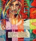 Rainbow Jesus by Kathy Rice Grimm At Goodsalt