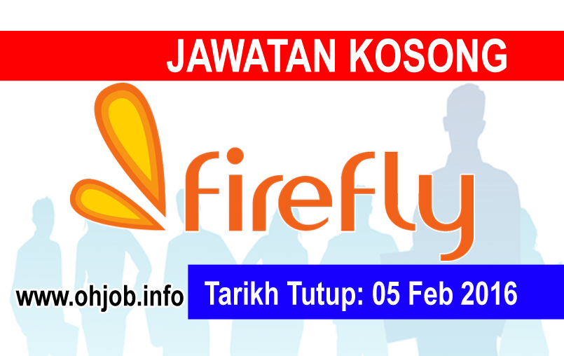 Jawatan Kerja Kosong Firefly Sdn Bhd logo www.ohjob.info februari 2016