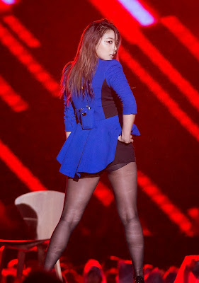 Ailee - Sexy Beauty in Blue