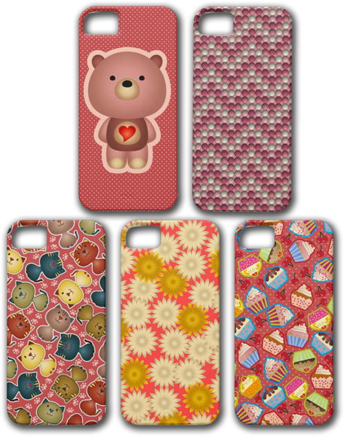 Pretty in Pink iPhone 5 Cases