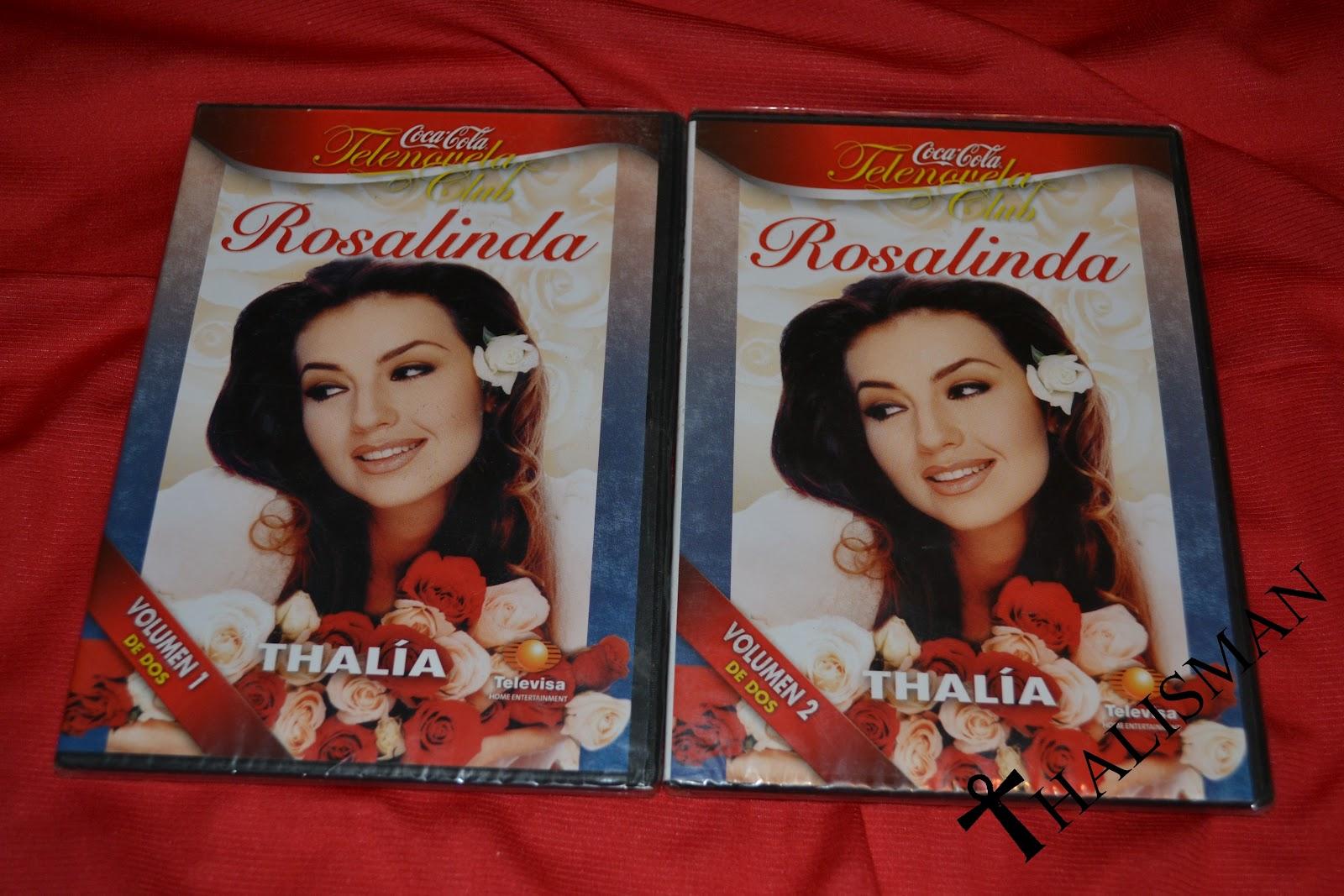 Amazon.com: Rosalinda: Thalía, Fernando Carrillo, Angélica María ...