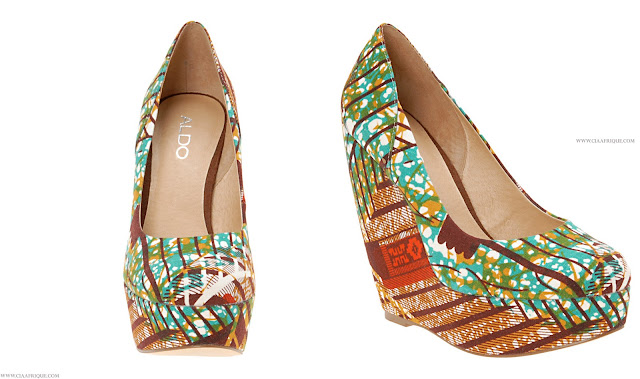 Aldo's Ankara inspired shoes