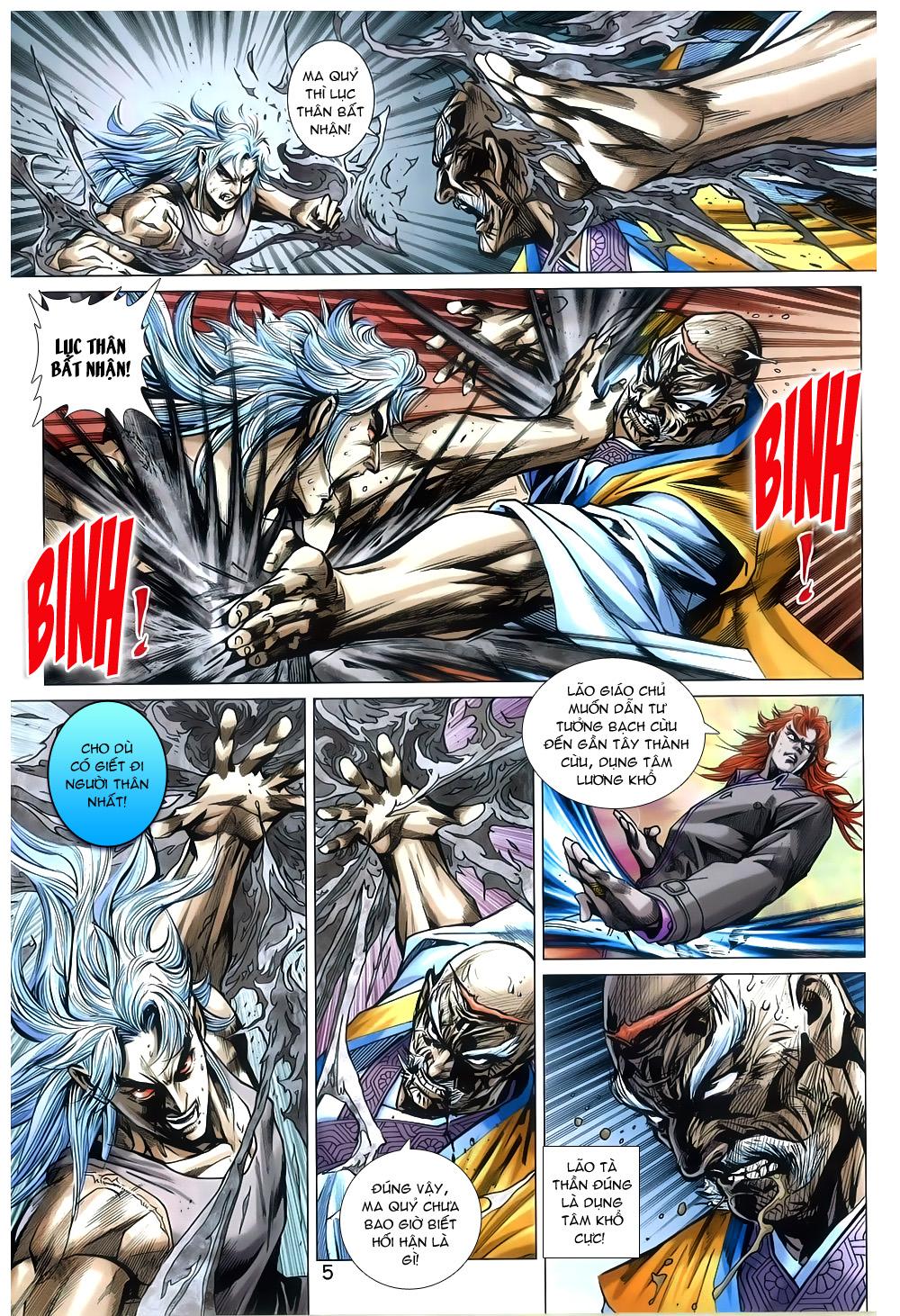 Tân Tác Long Hổ Môn chap 791 Trang 5 - Mangak.info