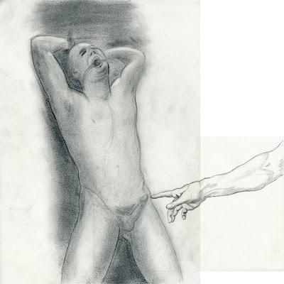 dessin erotique pornographique gay bondage