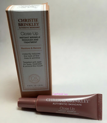 Christie Brinkley Skin Care Close Up review
