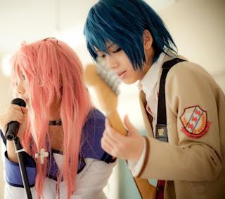 Angel Beats Hinata Yui cosplay