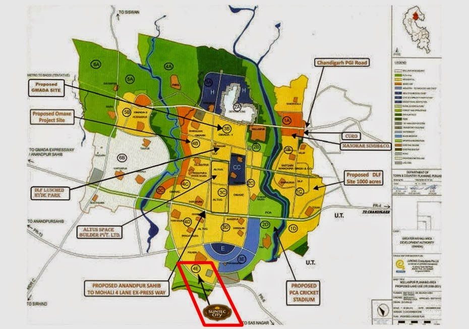 Suntec City Mullanpur New-Chandigarh Plots Floors