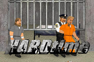 Screenshots of the Hard Time Prison sim for Android tablet, phone.