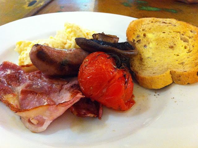 Frizzante cafe brunch breakfast Hackney City Farm