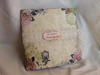 скрапбукинг мини-альбом на день рождения