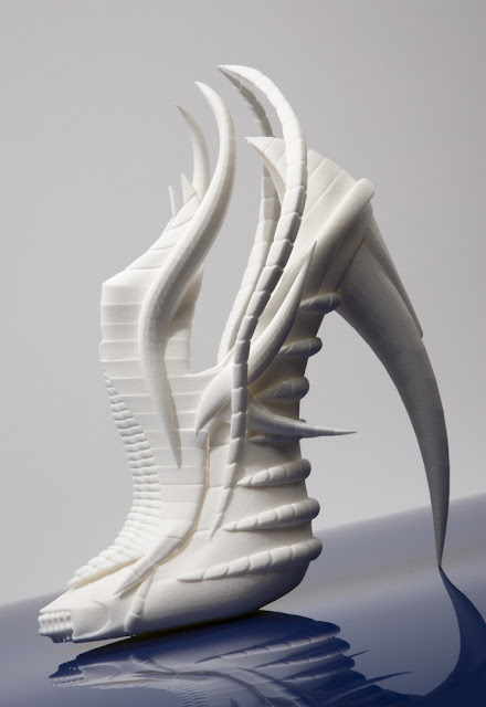 3D printing, experimental, shoes, exoskeleton, Janina Alleyne, technology