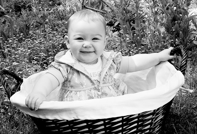 Backyard shoot with my niece