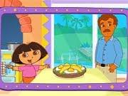 Doras Cooking in La Cucina