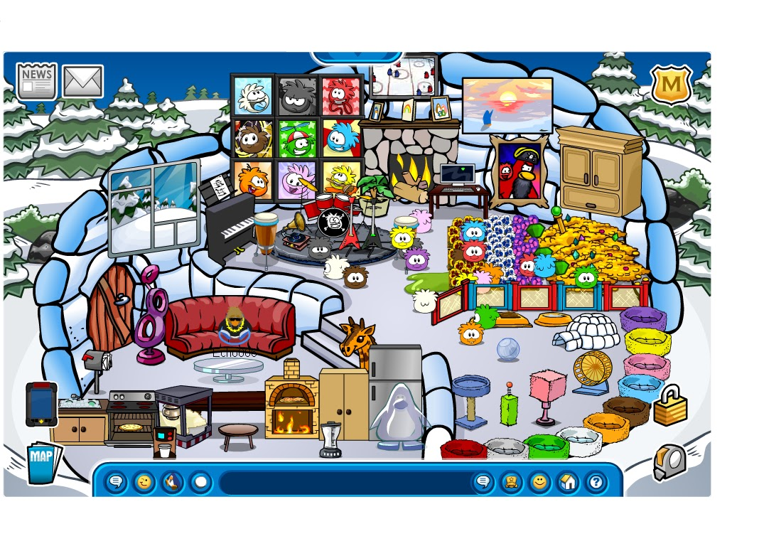 Echo006 In Club Penguin: 23 June 2013