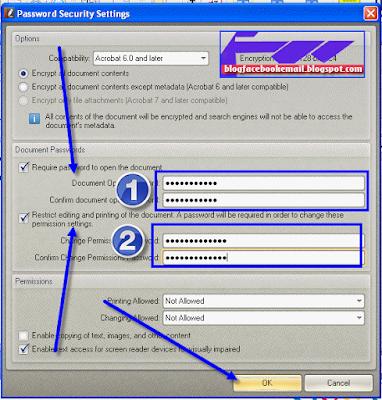 cara agar PDF tidak bisa di buka dan di edit