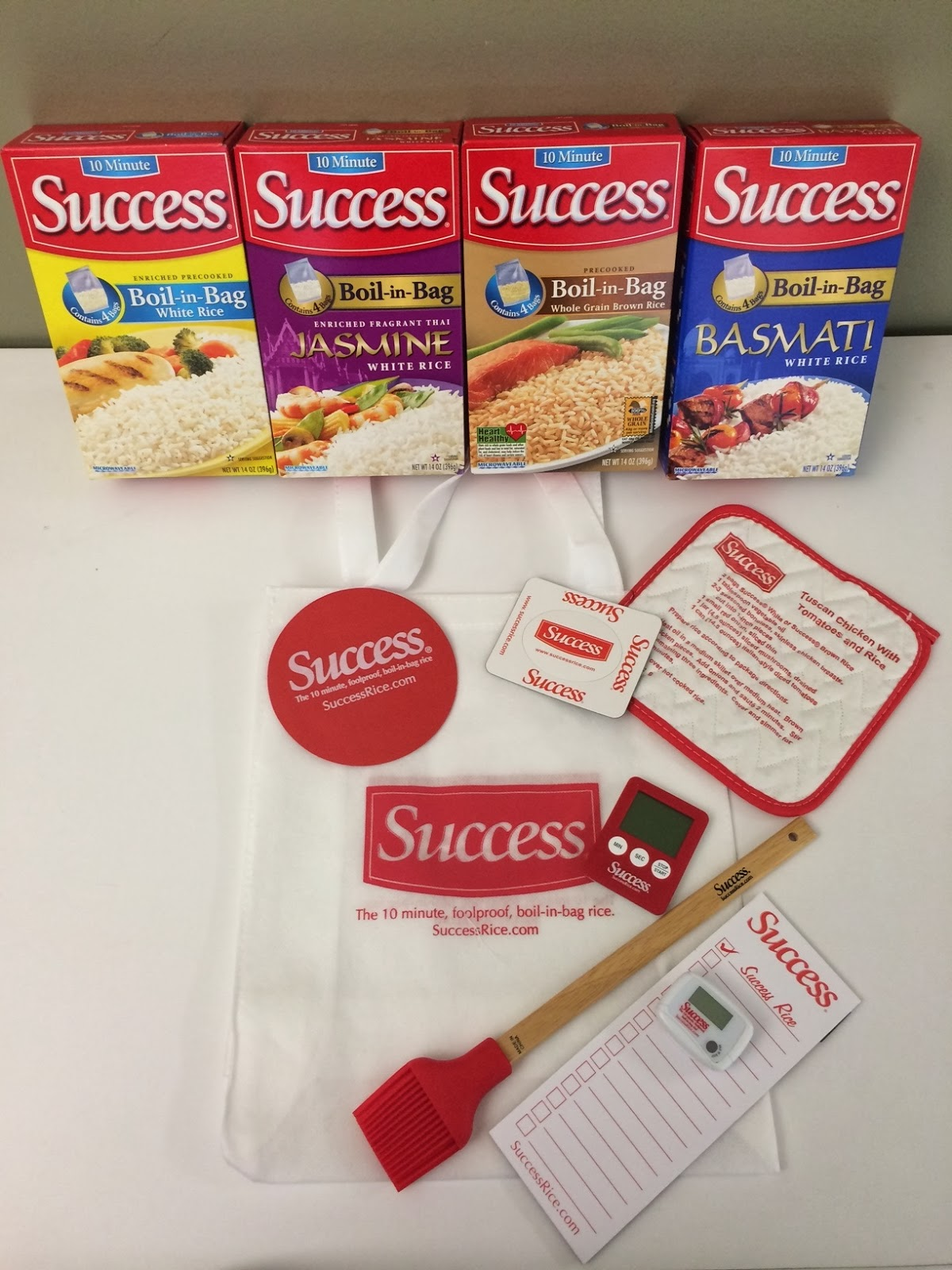 Success Rice Giveaway