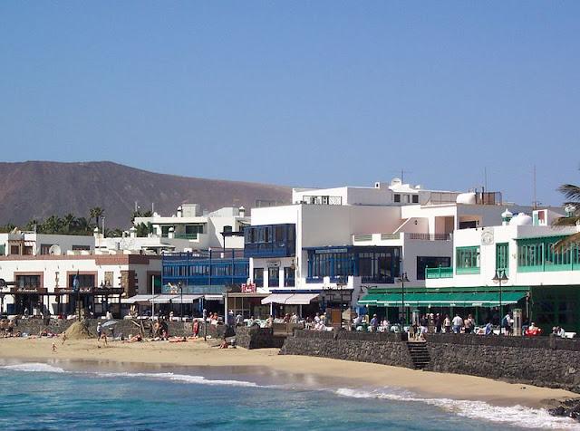 Playa Blanca på Lanzarote
