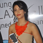 Shruti Hassan Launches Samsung Galaxy S3 Photo Gallery