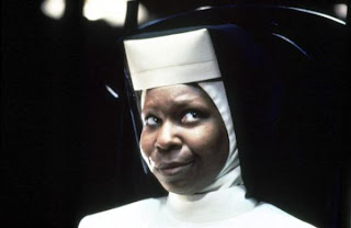 "Whoopi Goldberg en ""Sister act"""
