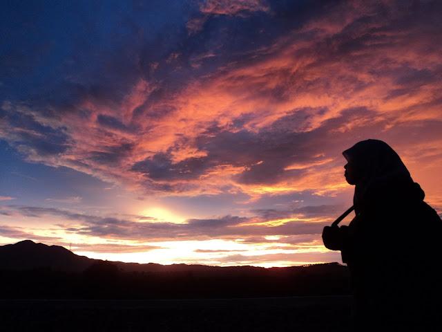 Sunset Air Terjun Sipiso-Piso Sumatera Utara